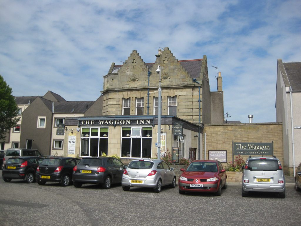 The Waggon Inn in Kelso.