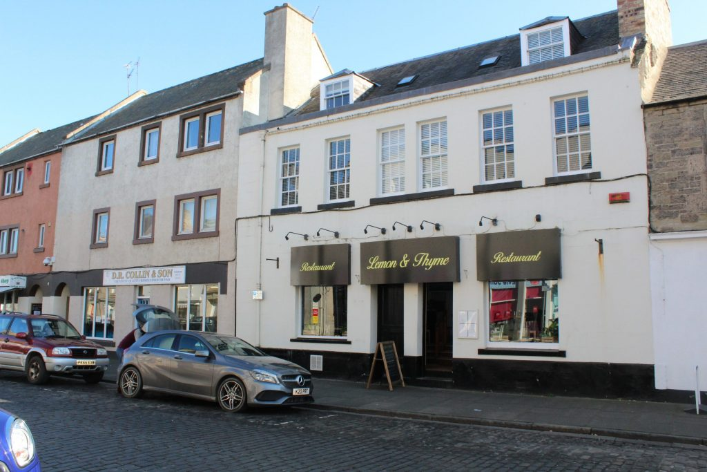 The lemon and thyme in kelso